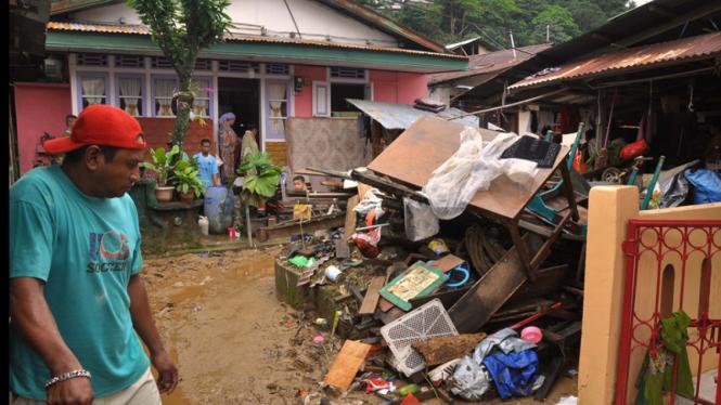 Suasana Pasca Banjir di Ambon