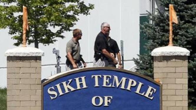 Penembakan di kuil Sikh Wisconsin
