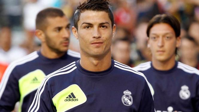 Cristiano Ronaldo di tur AS Real Madrid