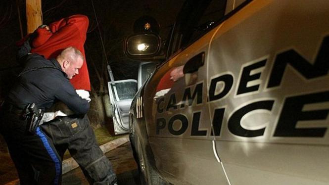 Kepolisian Camden, AS, menggeledah warga