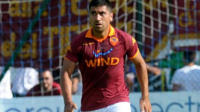 Pemain AS Roma, David Pizarro.