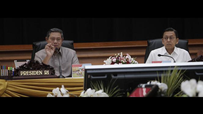 presiden SBY rapat ESDM