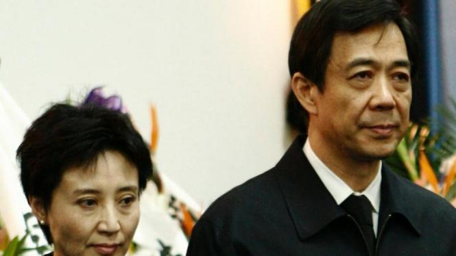 Bo Xilai dan istri Gu Kailai