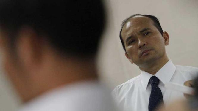 Sidang Mantan Dirut Merpati Nusantara Airlines Hotasi Nababan