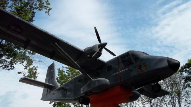 Pesawat Nomad TNI AL Di Museum Probolingo