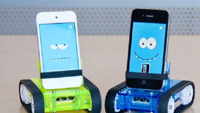 Robot mobile dari smartphone