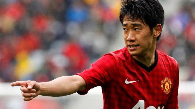 Pemain Manchester United, Shinji Kagawa.