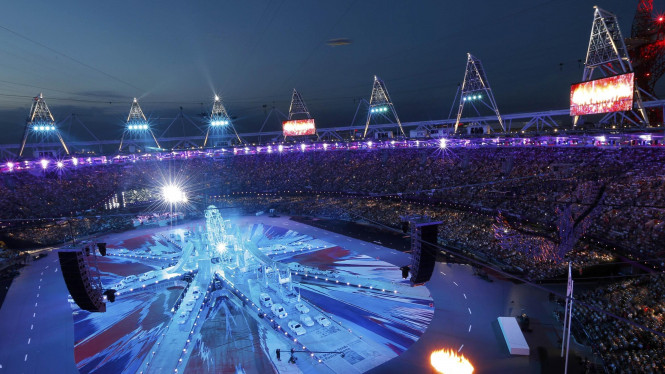Penutupan Olimpiade 2012