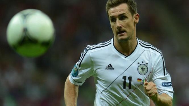 Striker Jerman Miroslav Klose