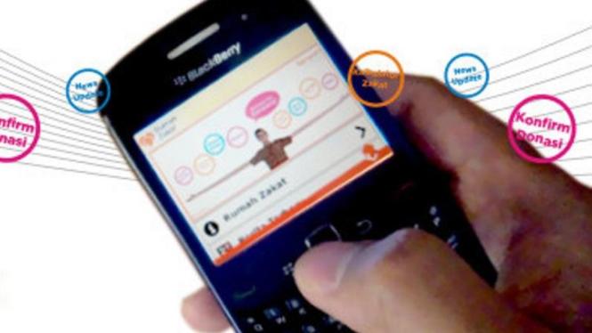 Layanan Zakat Mobile.