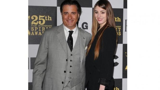 Dominik putri dari Andy Garcia