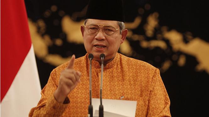 Presiden SBY bantah pimpin rapat Bank Century