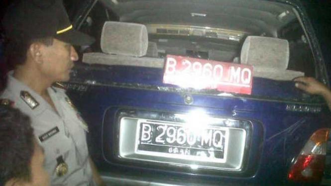 Mobil Menabrak 8 Pejalan Kaki di Depok