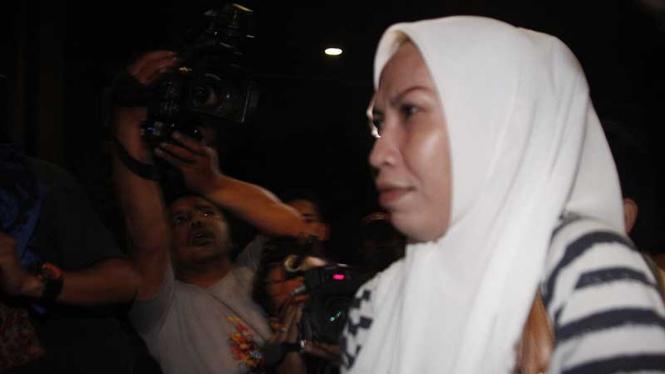 Kasus Suap Hakim, Sri Dartuti Tiba di KPK