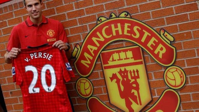 Striker Manchester United, Robin van Persie
