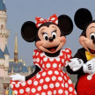 Minnie dan Mickey Mouse.