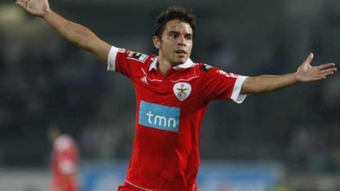 Pemain Benfica, Javier Saviola.