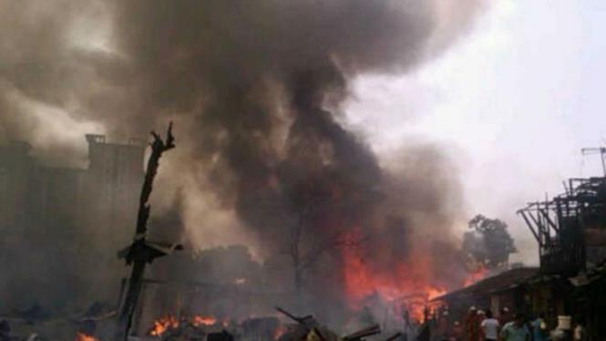 Kebakaran Pondok Bambu