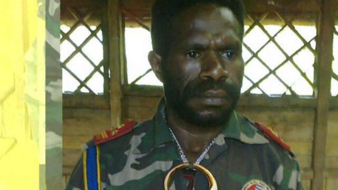 Panglima Tertinggi Organisasi Papua Merdeka John M Yogi