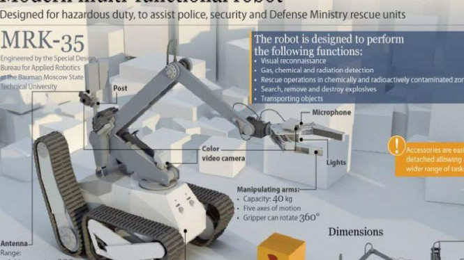 MRK-35, robot pendeteksi bom