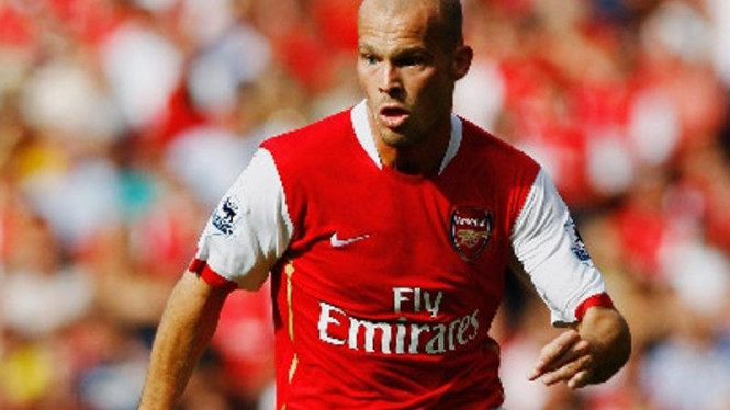 Legenda Arsenal,  Fredrik Ljungberg.