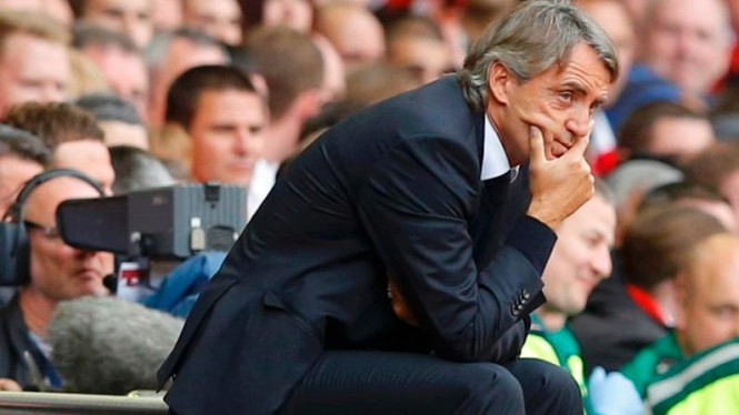 Pelatih Manchester City, Roberto Mancini