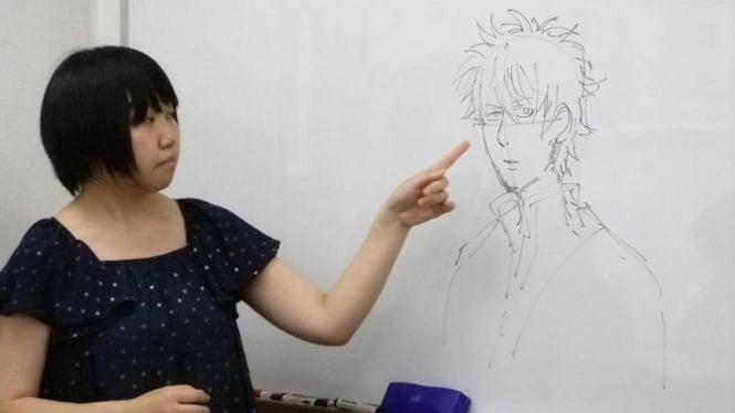 Pembuatan kartun manga