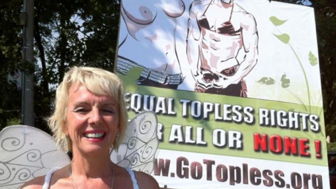 Kampanye hak telanjang dada di AS