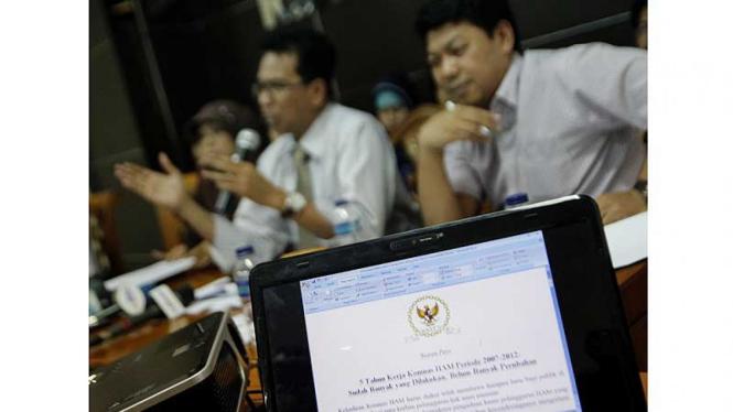 Hari Terakhir Masa Jabatan Komnas HAM 2007-2012
