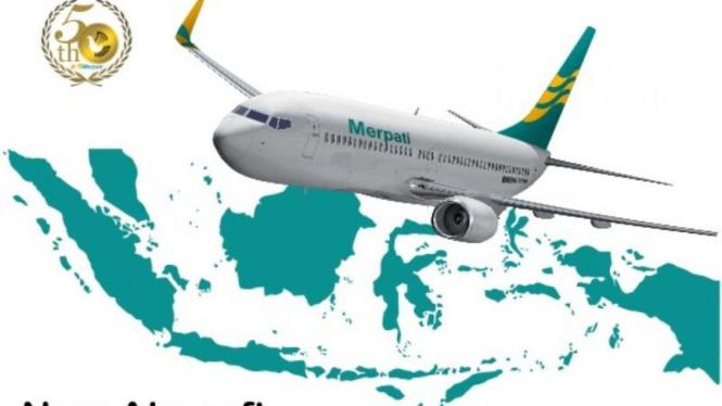 Merpati Nusantara Airlines Ulang Tahun ke-50 Tahun