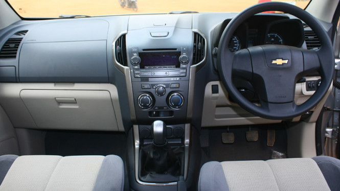 Interior Chevrolet Trailblazer