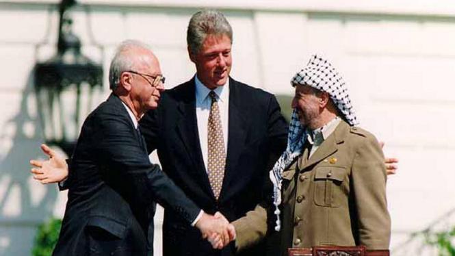 Kesepakatan damai Rabin, Arafat dan Clinton