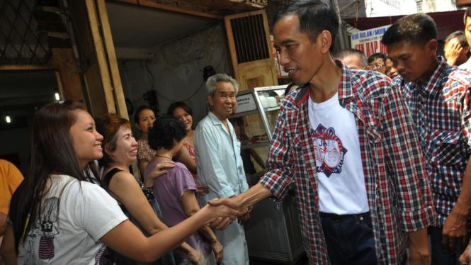 Jokowi Kampanye di Petak Sembilan