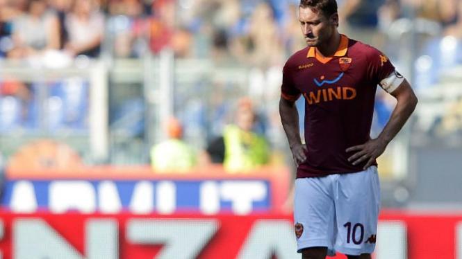 Kapten AS Roma, Francesco Totti.