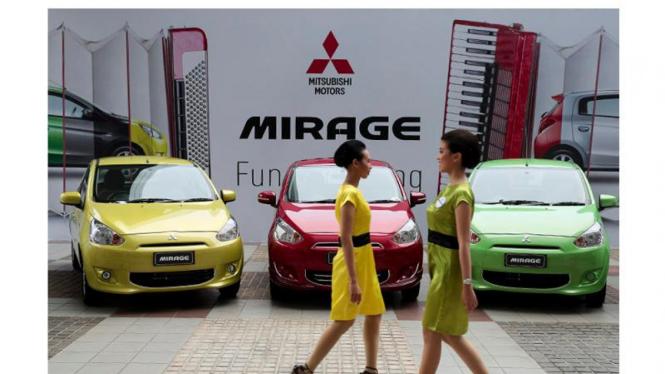 Peluncuran Mobil Mitsubishi Mirage