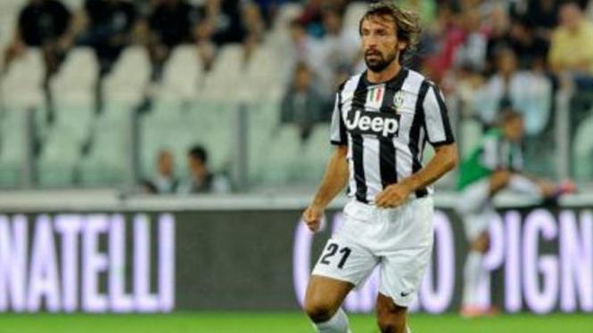Pemain Juventus, Andrea Pirlo.