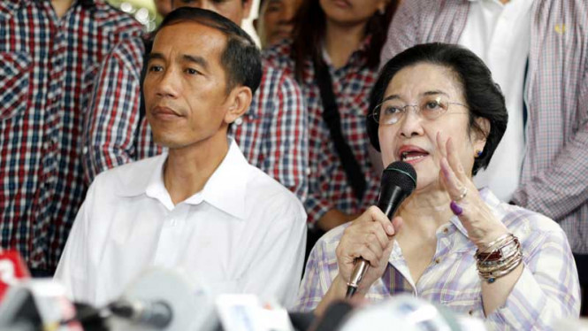 Usai Mencoblos, Mega dan Jokowi Gelar Jumpa Pers