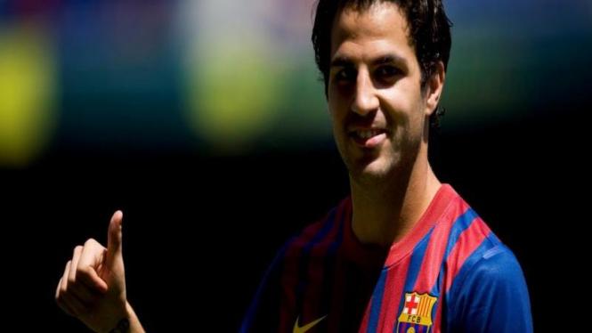 Fabregas Merasa Bahagia Di Barcelona