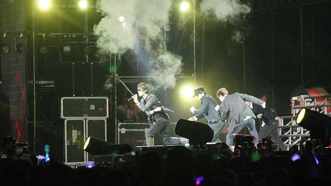 Konser SMTown Live World Tour III in Jakarta