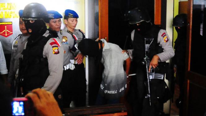 Penangkapan Teroris Melawi