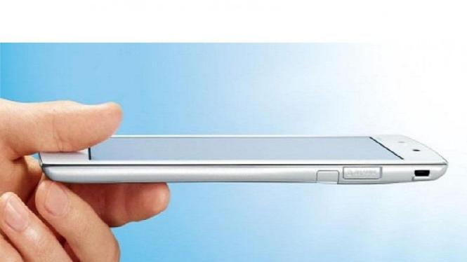 Tablet Android tertipis dan teringan.