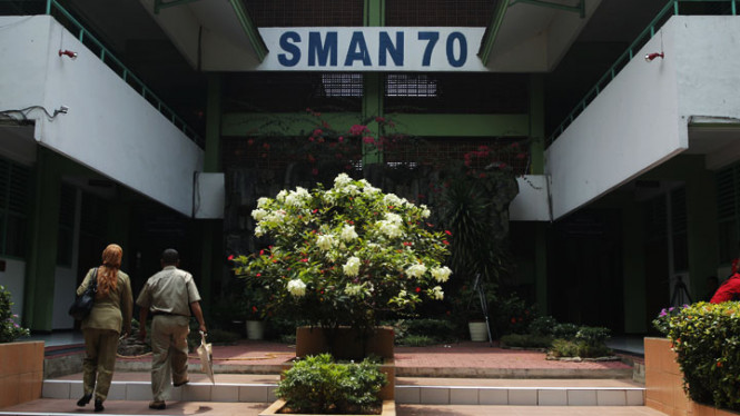 Suasana SMA 70 Pasca Tawuran Dengan SMA 6 Jakarta