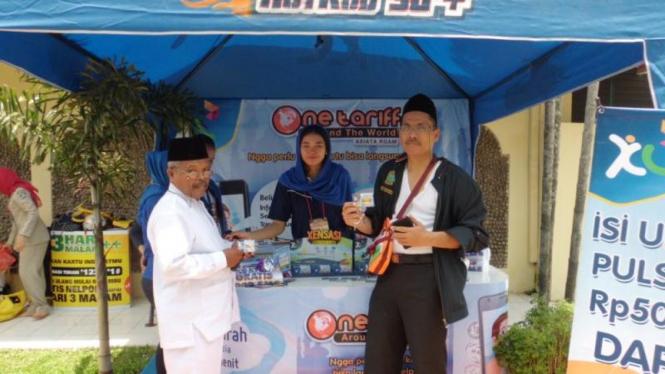 XL Hadirkan Posko Layanan Haji di seluruh Indonesia