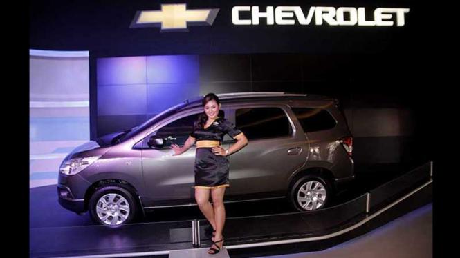 Mobil MPV di IIMS 2012, Chevrolet Spin