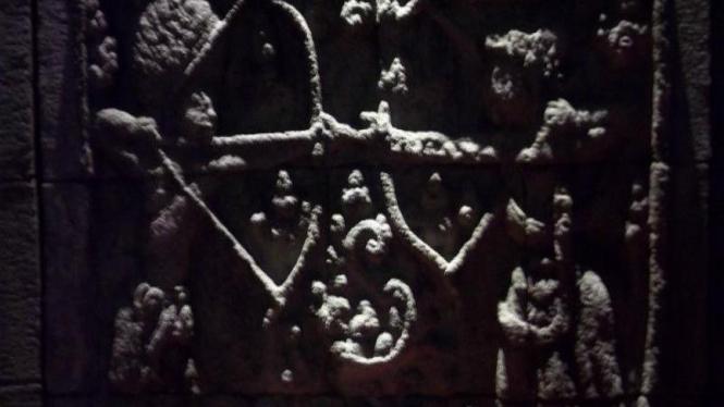 Relief Arjua Wiwaha Di Museum Probolinggo
