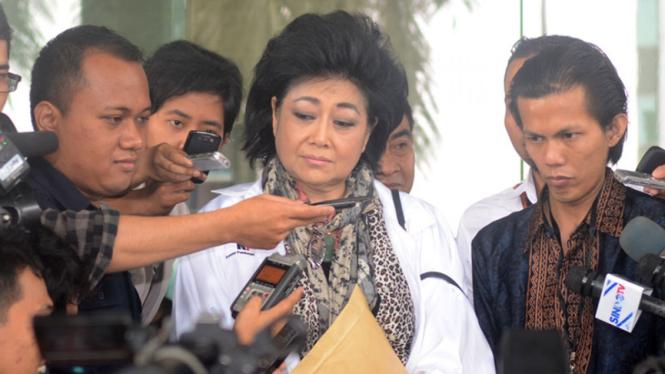Tersangka kasus dugaan suap, Siti Hartati Murdaya