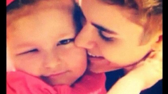 Justin Bieber dan istri kecilnya