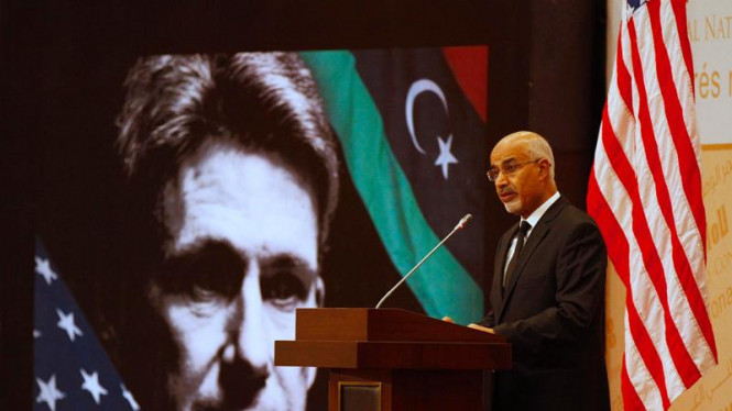 Pemimpin Libya Mohammed Magarief