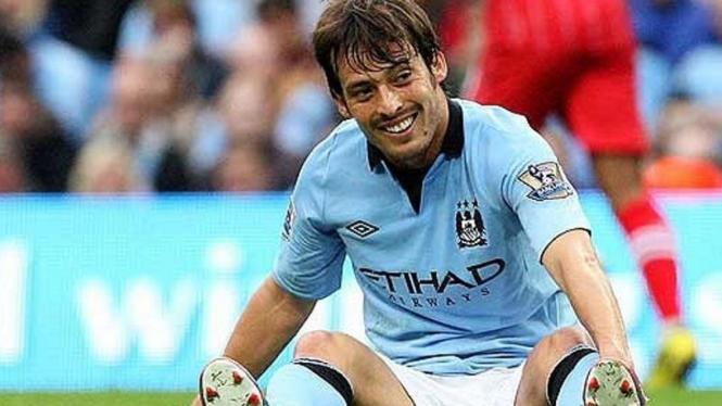 Playmaker Manchester City, David Silva