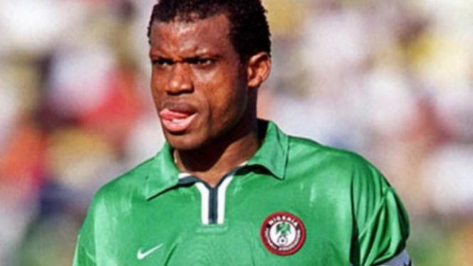 Eks pemain timnas Nigeria, Sunday Oliseh.
